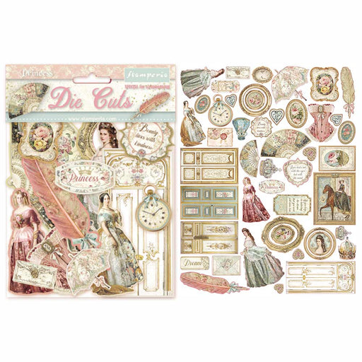 STAMPERIA   DIE CUTS ASSORTED PRINCESS
