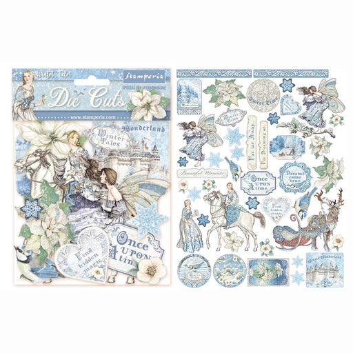 STAMPERIA   DIE CUTS ASSORTED WINTER TALES