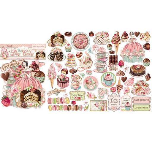 STAMPERIA   DIE CUTS ASSORTED SWEETY