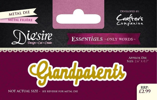 DIESIRE ESSENTIALS ON WORDS DIE  GRANDPARENTS