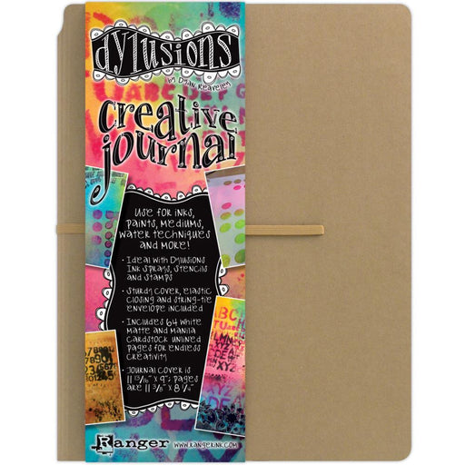 DYLUSIONS CREATIVE JOURNAL 11 X 9  KRAFT