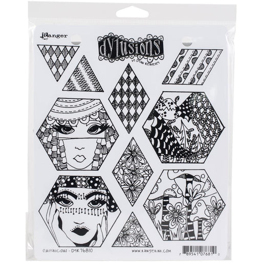 DYLUSIONS  STAMP  QUITALICIOUS