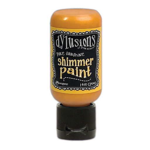 DYLUSIONS  MEDIA  PAINT 29ML SHIMMER PAINT  PURE SUNSHINE