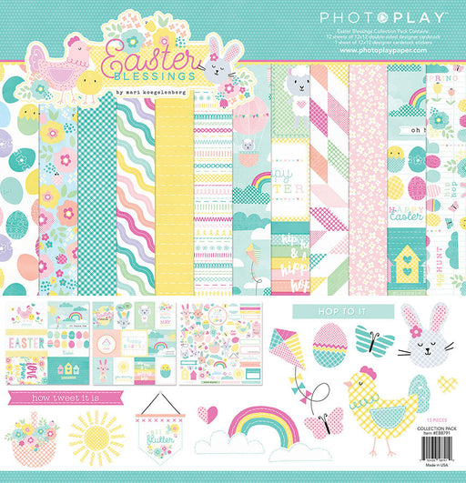 PHOTOPLAY  12 X12 PAPER PACK  EASTER BLESSING