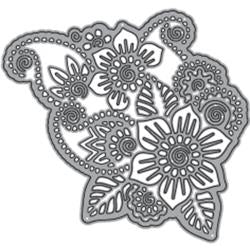 ELIZABETH CRAFT DESIGN DIES FLOWER LACE 1