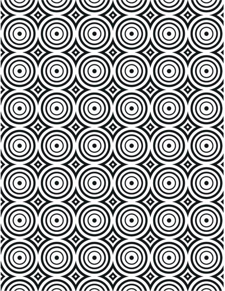CREATIVE EXPRESSION EMBOSS FLD 5X7 CIRCLE ILLUSION