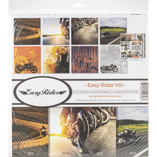 EASY RIDER  12 X 12   PAPER PACK KIT