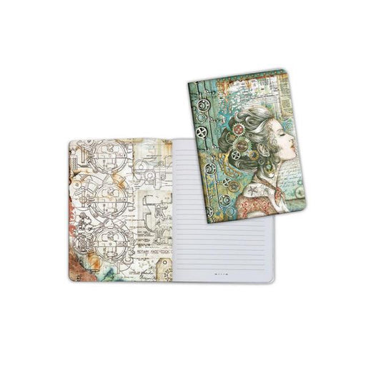STAMPERIA A5   NOTEBOOK SEA WORLD LADY