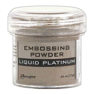 RANGER EMBOSSING POWDER LIQUED PLATINUM
