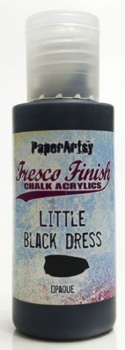 PAPER ARTSY FRESCO CHALK ACRYLICS LITTLE BLACK DRESS