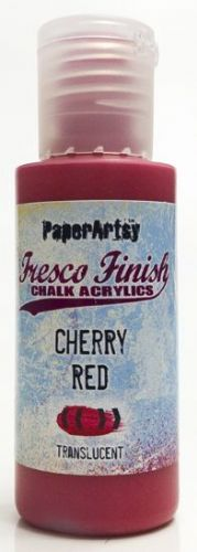 PAPER ARTSY FRESCO CHALK ACRYLICS CHERRY RED