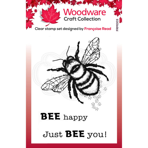 WOODWARE  CLEAR STAMPS LITTLE BEE