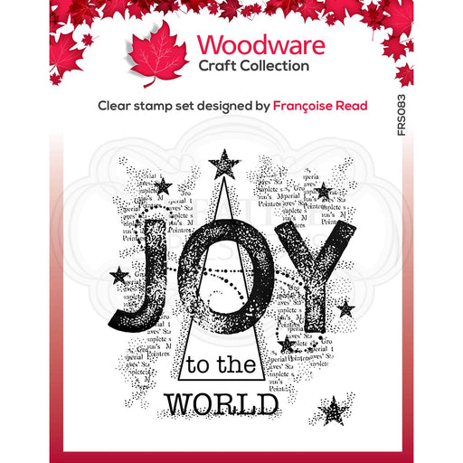 WOODWARE  CLEAR STAMPS JOY