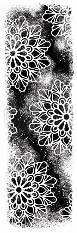 WOODWARE  CLEAR STAMPS COSMIC BACKGROUND