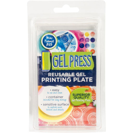 GEL PRESS REUSABLE PRINTING PLATE 3 X 5