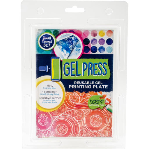 GEL PRESS REUSABLE PRINTING PLATE 5 X 7