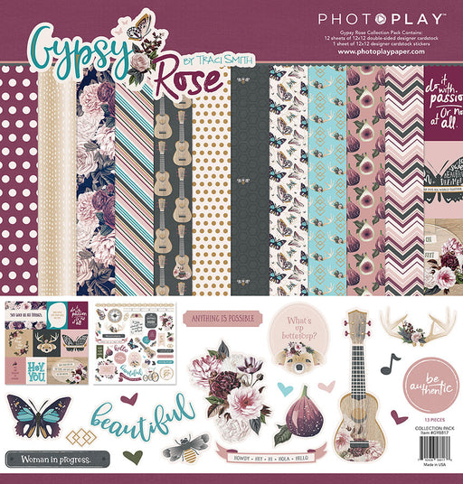 PHOTOPLAY  12 X12 COLLECTION PACK GYPSY ROSE