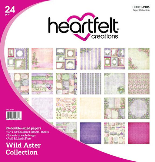 HEARTFELT WILD ASTER PAPER COLLECTION