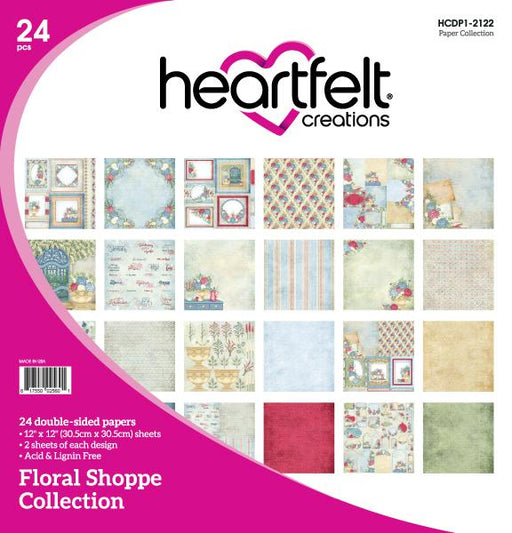HEARTFELT CREATIONS  FLORAL SHOPPE PAPER COLLECTION (Pre Order Now shipping in Mid December 2020)