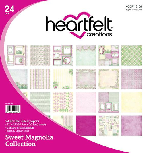HEARTFELT CREATIONS  SWEET MAGNOLIA PAPER COLLECTION