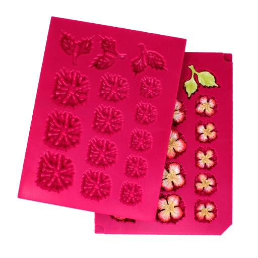 HEARTFELT 3D BLOSSOMS SHAPING MOLD