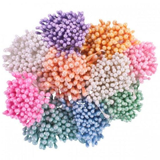 STAMENS PASTEL PEARL SMALL 10BDL OF 144 PCES