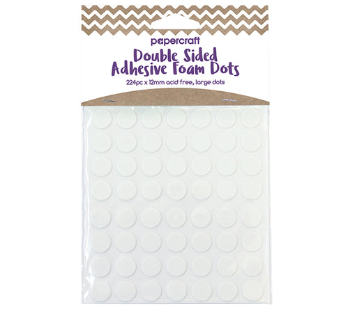 PAPER CRAFT DOUBLE SIDED ADHESIVE FOAM DOTS
