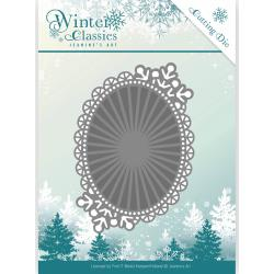JEANINES ART DIES WINTER CLASSICS WINTER OVAL