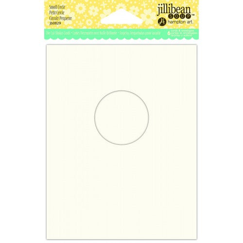 JILLIBEAN SOUP SHAKER CARD SMALL CIRCLE