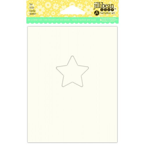 JILLIBEAN SOUP SHAKER CARD  STAR