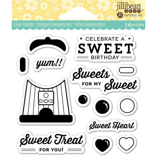 JILLIBEAN SOUP CLEAR STAMP  SWEET TREAT