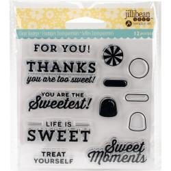 JILLIBEAN SOUP CLEAR STAMP  SWEET  MOMENT