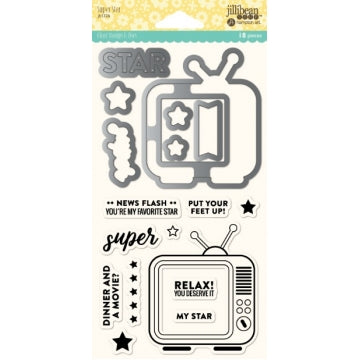 JILLIBEAN SOUP  STAMP AND DIE SUPER STAR