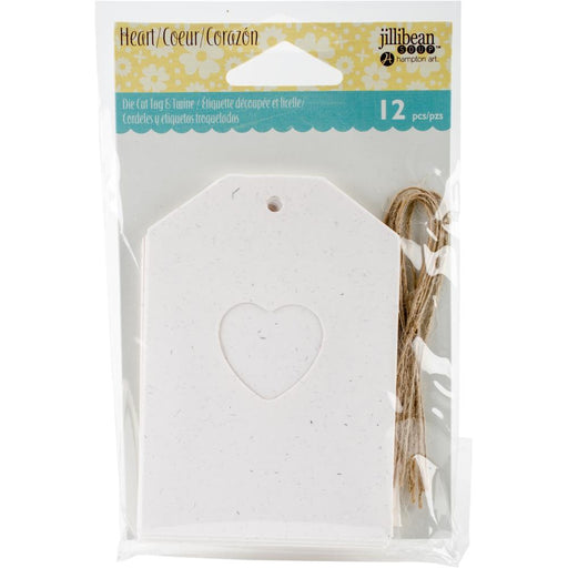 JILLIBEAN SOUP SHAKER TAG SMALL HEART
