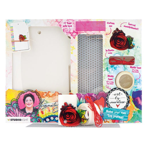 ART BY MARLENE  STUDIO LIGHT COLLECTION JOURNAL TAG MAKER