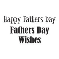 WOODWARE  CLEAR STAMPS  HAPPY FATHERS  DAY