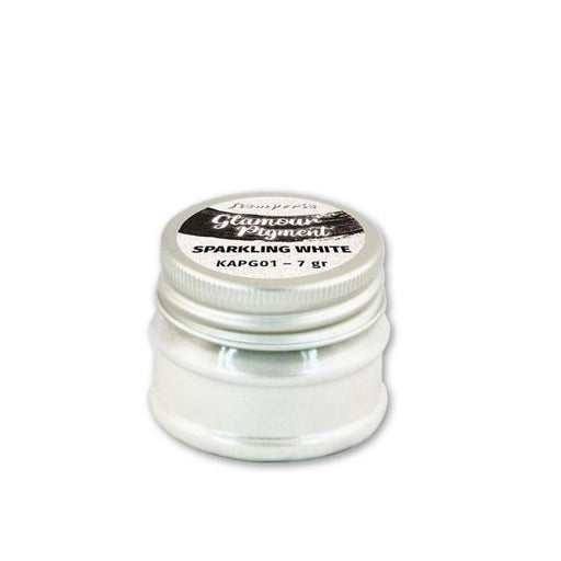 STAMPERIA GLAMOUR PIGMENT 7G SPARKLING WHITE
