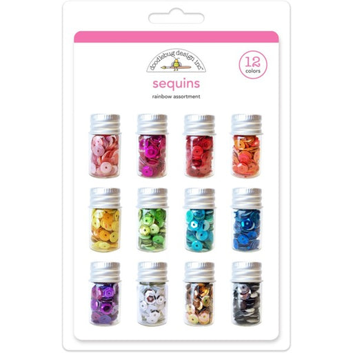 DOODLEBUG SEQUINS RAINBOW ASSORTMENT