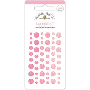 DOODLEBUG SPRINKLE CUPCAKE GLITTER ASSORTMENT