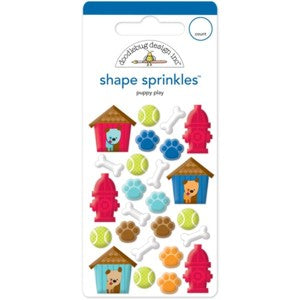 DOODLEBUG SHAPE SPRINKLE PUPPY PLAY