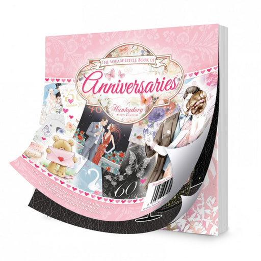 HUNKYDORY SQUARE LITTLE BOOK OF ANNIVERSARIES