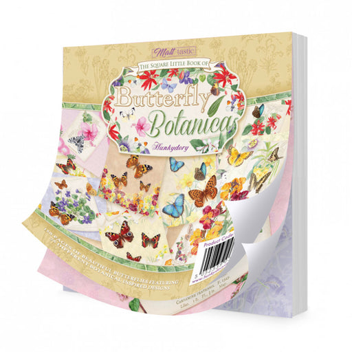 HUNKYDORY SQUARE LITTLE BOOK OF BUTTERFLY BOTANICA