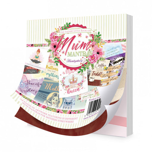 HUNKYDORY SQUARE LITTLE BOOK OF MUM MANTRAS