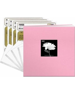PIONEER 12X12 ALBUM  WINDOW DREAMY PINK