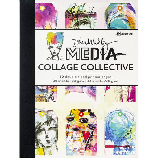 DINA WAKLEY MEDIA  JOURNAL  COLLAGE COLLECTION