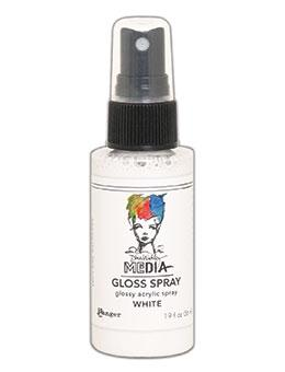 RANGER DINA WAKLEY MEDIA GLOSS SPRAY WHITE