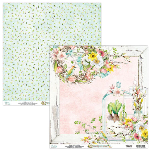 MINTAY BY KAROLA 12 X 12  BEAUTY IN BLOOM -03