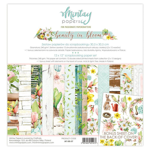 MINTAY BY KAROLA 12 X 12 BEAUTY IN BLOOM  PAPER PAD