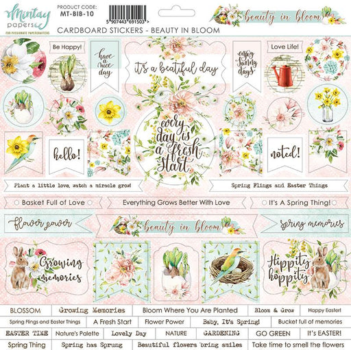 MINTAY BY KAROLA 12 X 12 STICKERS  BEAUTY IN BLOOM