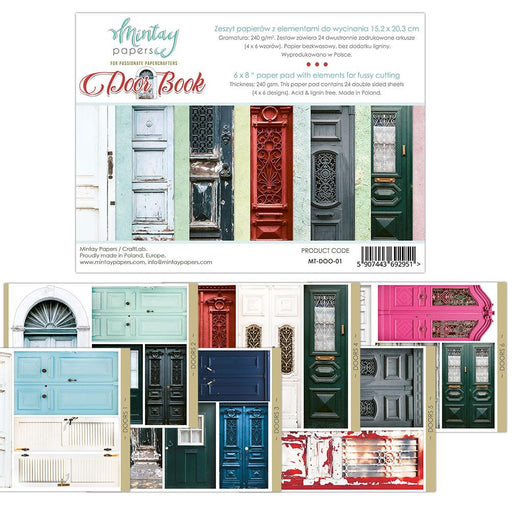 MINTAY BY KAROLA 6 X 8 DOOR BOOK ELEMENTS FOR PRECISE CUT